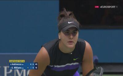 Bianca Andreescu mistrzynią US Open