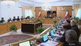 Posiedzenie irańskiego rządu