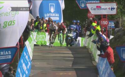 Tadej Pogacar wygrał etap na Los Machucos