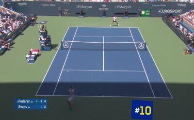 TOP 10 zagrań turnieju mężczyzn US Open 2019