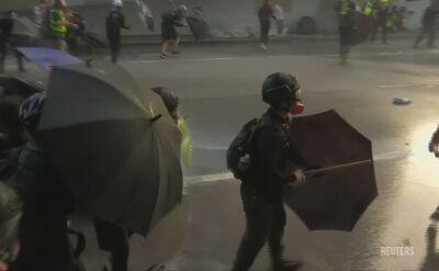 Zlekceważyli zakaz policji. Tysiące osób na demonstracji w Hongkongu
