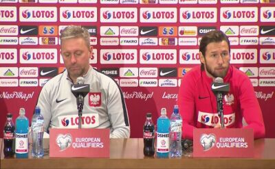 Brzęczek i Krychowiak przed meczem z Austrią