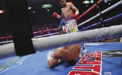 Pacquiao wygrał z Thurmanem i zdobył pas WBA