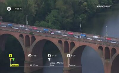 Van Aert najszybszy na finiszu 10. etapu Tour de France