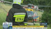Pięć śmigłowców transportuje rannych z zakopianki