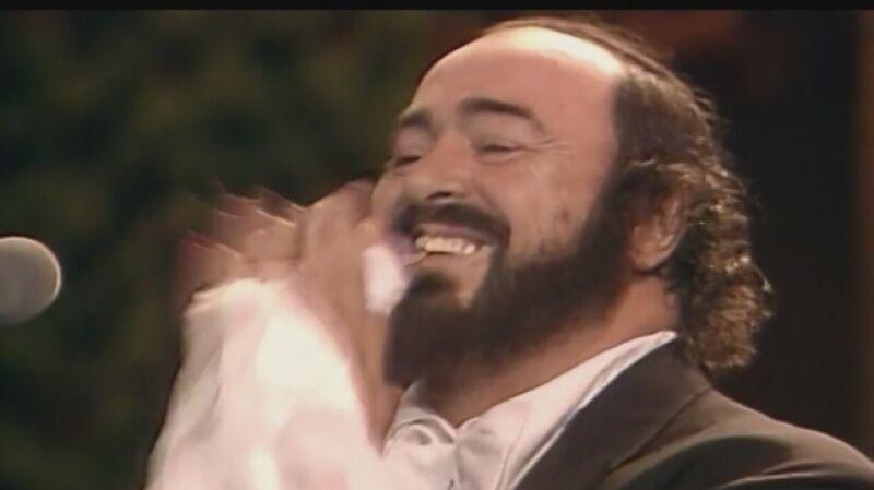 "Zwiastun filmu Rona Howarda ""Pavarotti"""