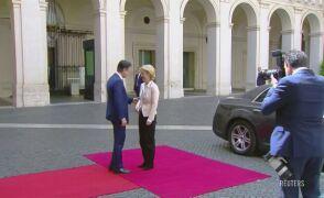 Ursula von der Leyen i Giuseppe Cente spotkali się w Rzymie