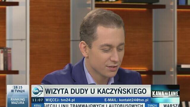 Rzecznik rządu o prezesie Kaczyńskim sterującym marionetkami