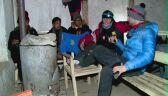 Uczestnicy wyprawy po pierwszym dniu trekkingu