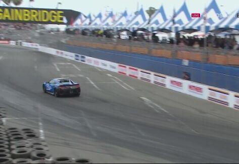 Indy Car. Walka na początku GP Long Beach