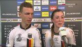 Niemcy po triumfie w jeździe na czas drużyn mieszanych w MŚ