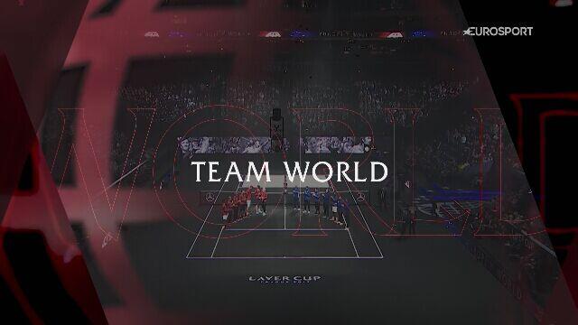 Prezentacja Drużyny Światowej na Laver Cup 2021