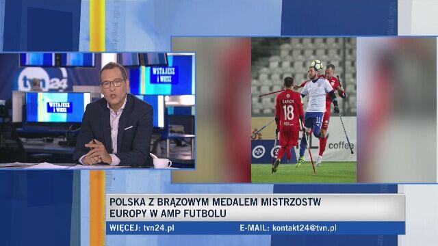 Przemysław Świercz o przepisach w amp futbolu
