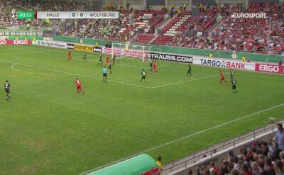 Świetny mecz w Pucharze Niemiec. 8 goli i awans Wolfsburga