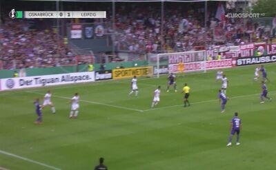 Skrót meczu VfL Osnabruck - RB Lipsk