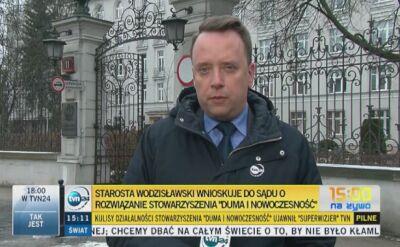 Starosta zawnioskował o delegalizację Dumy i Nowoczesności