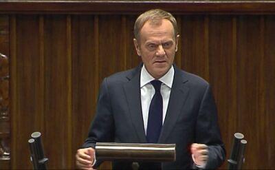 Tusk o kondycji polskiej gospodarki