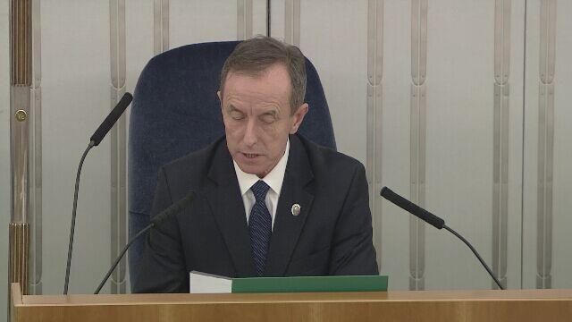 Stanisław Karczewski wybrany wicemarszałkiem Senatu