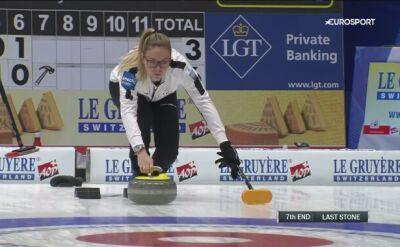 Curling. Szwedki zaskakująco łatwo przegrały ze Szwajcarkami