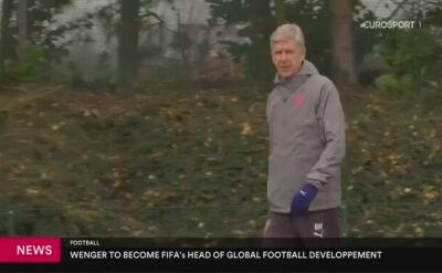 Wenger został dyrektorem do spraw rozwoju w FIFA