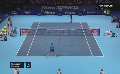 Skrót meczu Roger Federer - Novak Djokovic