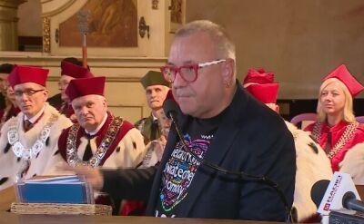 Jerzy Owsiak odebrał Nagrodę Księżnej Jadwigi Śląskiej