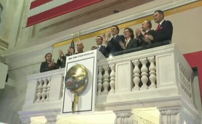 Polish PM Morawiecki rang the opening bells at New York Stock Exchange