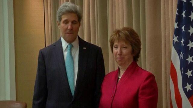 Kerry i Ashton w Genewie