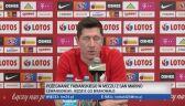 Lewandowski o meczu z Albanią