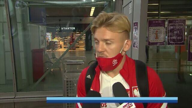 Kamil Jóźwiak po meczu z Bośnią