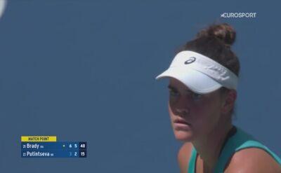 Jennifer Brady zapewniła sobie udział w półfinale US Open