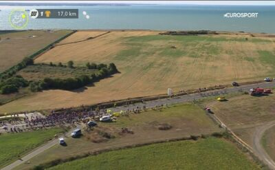 Kolarz CCC uczestniczył w kraksie na 10. etapie Tour de France