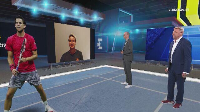 Emocje Mischy Zvereva przed finałem US Open