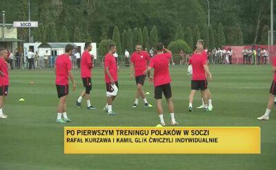 Pierwszy trening kadry w Soczi