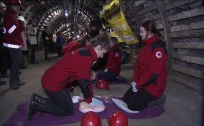 Rekord długości resuscytacji pobity 320 m pod ziemią