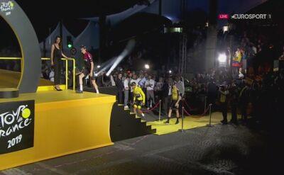 Hymn Kolumbii dla Egana Bernala za triumf w Tour de France