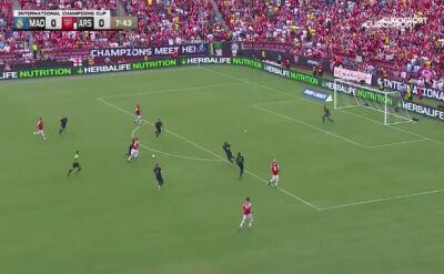 Skrót meczu Real Madryt - Arsenal w turnieju International Champions Cup