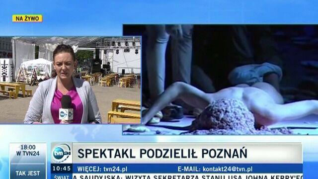 Spektakl podzielił Poznań