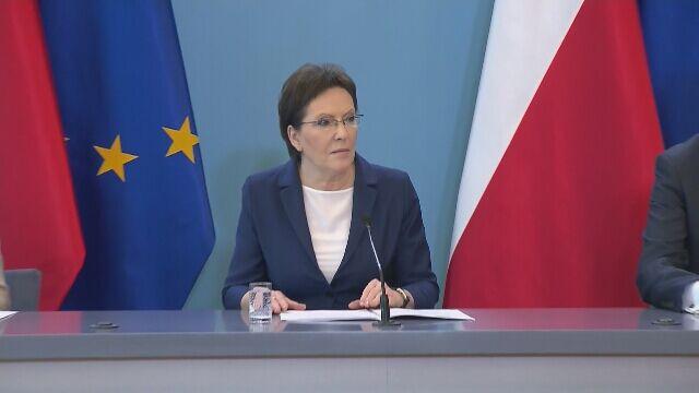 Kondolencje bliskim ofiar tragedii złożyła premier Ewa Kopacz
