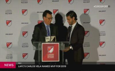 Vela piłkarzem sezonu MLS