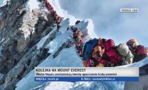 Rząd Nepalu chce przeciwdziałać przeludnieniu na Mount Everest.