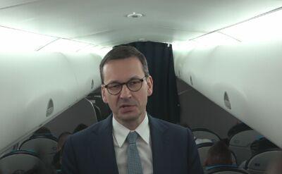 Premier Morawiecki po unijnym szczycie: nie rozmawialiśmy o personaliach