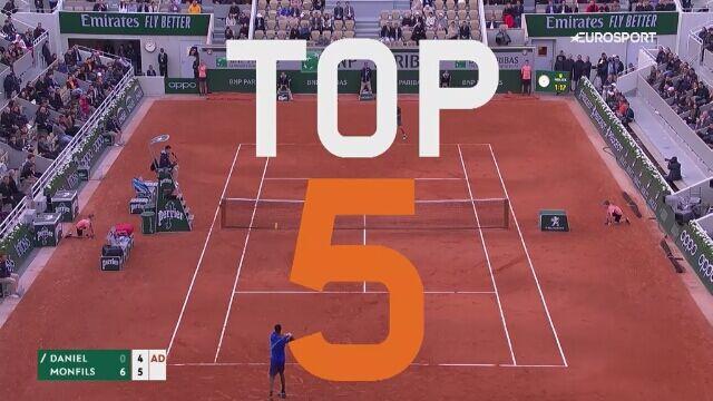 Najlepsze zagrania 3. dnia French Open