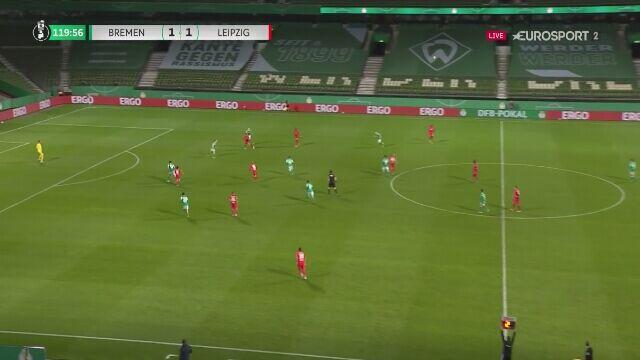 RB Lipsk w finale Pucharu Niemiec. Bramka w doliczonym czasie gry