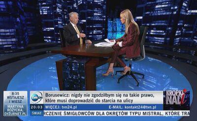"""""""Istotniejsze będzie, czy PiS zdecyduje się przeprowadzić proces Frasyniukowi"""""""
