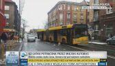 Autobus potrącił kobietę na pasach w Zabrzu