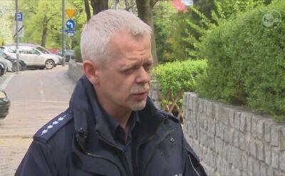 Policja o poszukiwanym listem gończym