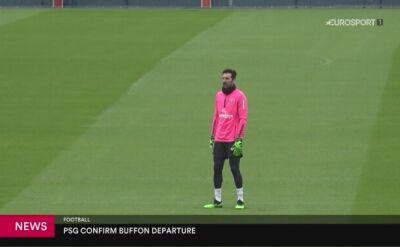 Buffon pożegnał się z PSG