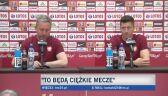 Jerzy Brzęczek o najbliższych meczach reprezentacji