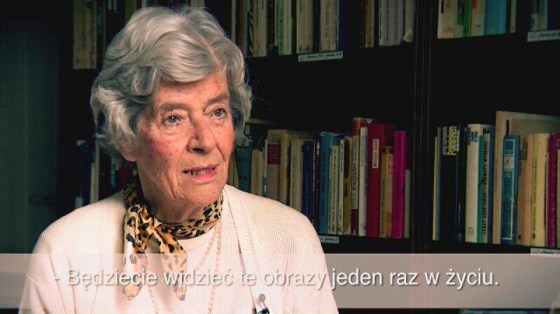 Mellita Sallai o wizycie Grundmanna w Morawie